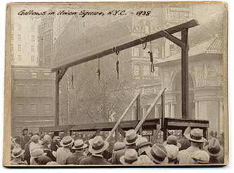Gallows in Union Square